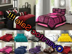 Empire Home 4-Piece Comforter Set ALL COLORS / ALL SIZES - O