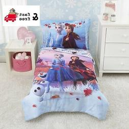 4 Piece Toddler Bed Set Disney Frozen 2 Magical Journey Lave
