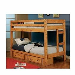 Coaster Home Furnishings 460243 Transitional Bunk Bed Amber