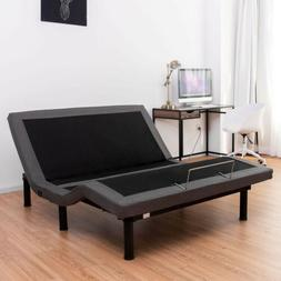 USB Electric Adjustable Bed Base Massage Function Remote Con