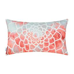 CaliTime Bolster Pillow Case Covers Shell Couch Bed Sofa Dah