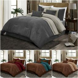 Chezmoi Collection Chandler 7-Piece Western Lodge Micro Sued