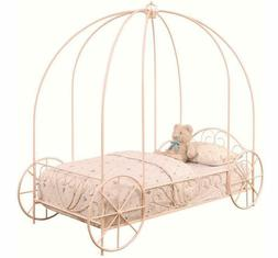 Coaster Home Furnishings Massi Twin Canopy Carriage Bed Powd