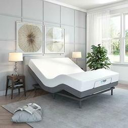 Classic Brands Comfort Upholstered Adjustable Bed Base with