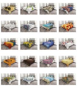 Coverlet Set Quilted Decorative Bedspread with Pillow Shams