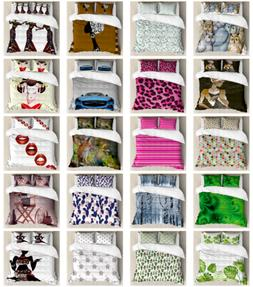 Ambesonne Duvet Cover Sets, Pillow Shams Bedding Sets with K