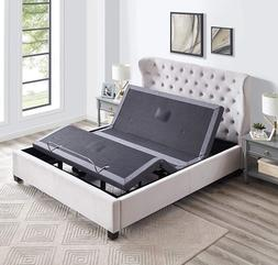 Electric Bed Frame Power Adjustable Base Massage Full Size W