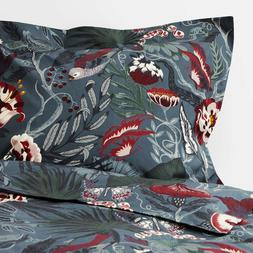 Ikea FILODENDRON Full/Queen Duvet Cover + 2 Pillowcases Bed