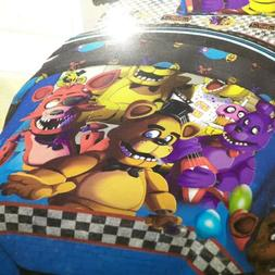 FIVE NIGHTS At FREDDY'S BONNIE FOXY TWIN COMFORTER & 3PC TWI