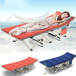 Folding Camping Cot with Carry Bag Portable Lightweight Roll