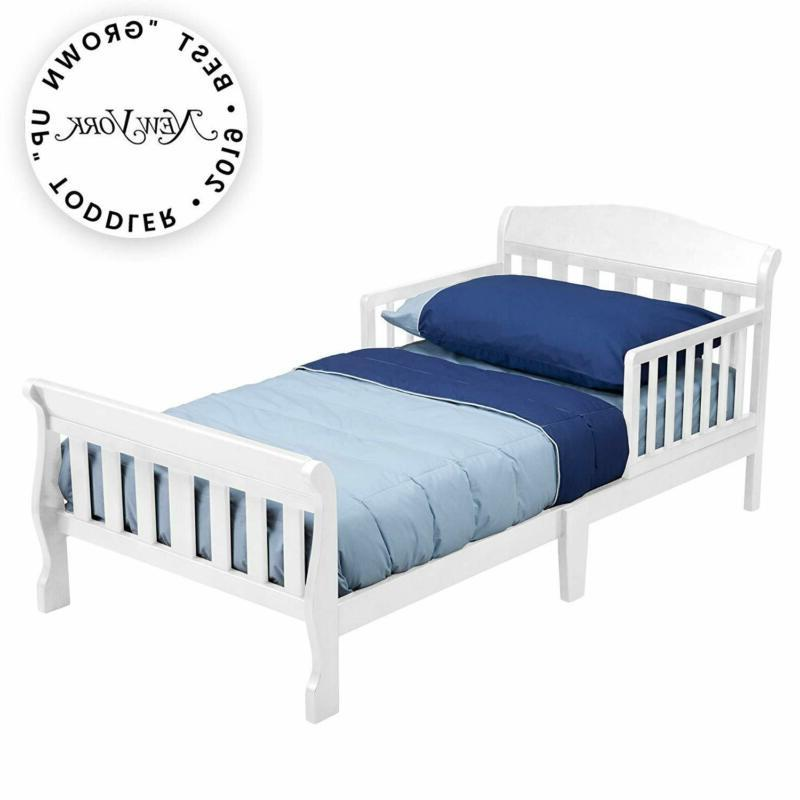 canton toddler bed white