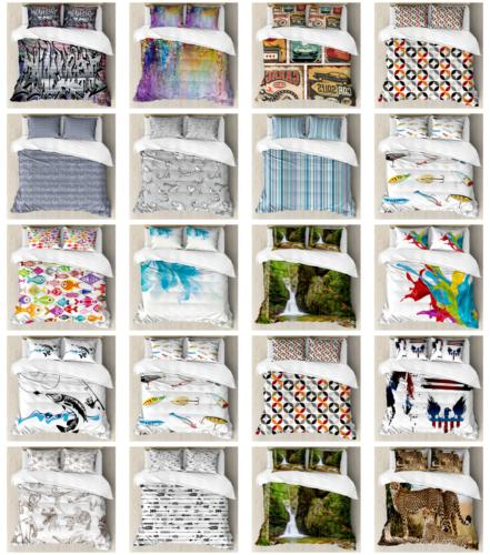 Ambesonne Cover Pillow Bedding Sets with Sizes