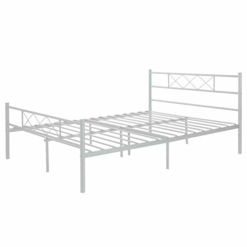 Full Size Frame Bedroom Mattress with Headboard