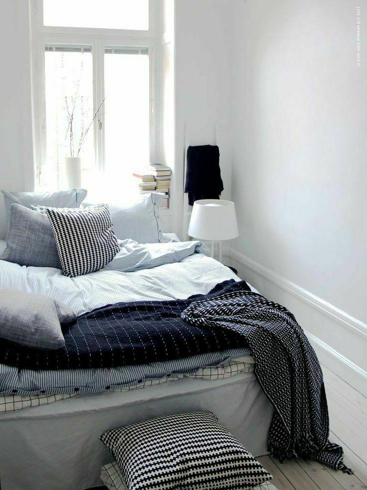 Ikea King Cover w/2 Pillowcases Set Striped NEW