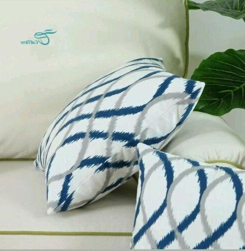 CaliTime Cozy Pillow Cases for Bed Sofa