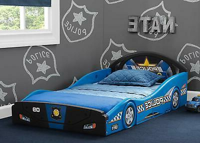 police car sleep and play toddler bed