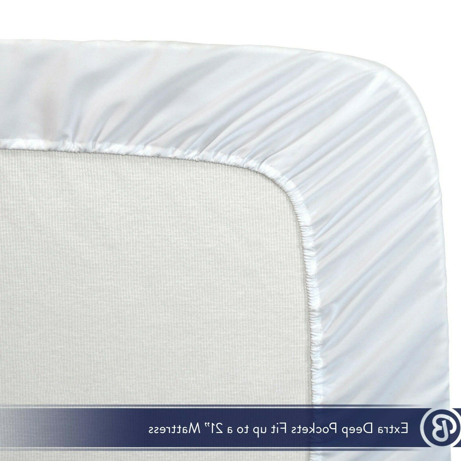 Count Ultra-Soft Deep Fitted Sheet