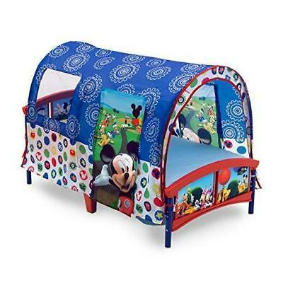 toddler bed canopy tent disney