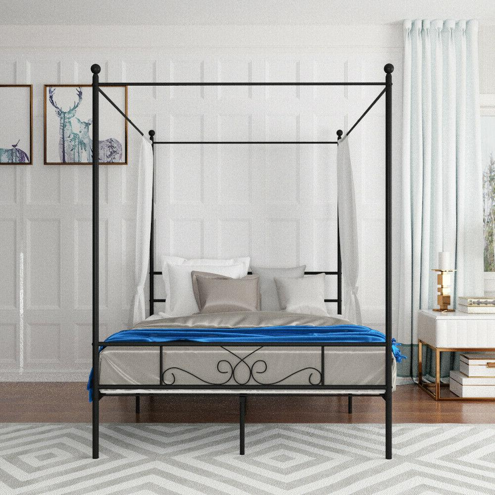 Twin 4 Metal Bed Frame Girls