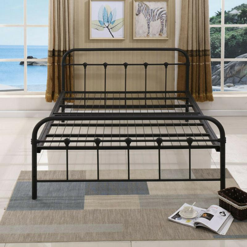 Frame with Headboard and Black
