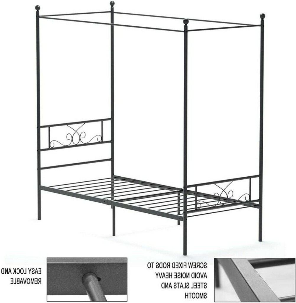 Twin Bed Mattress Foundation With Headboard