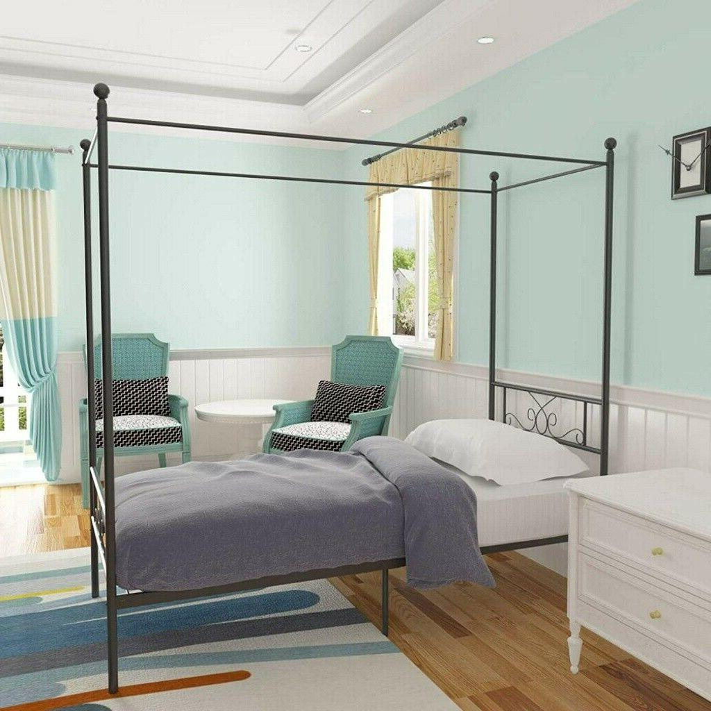 Twin Bed Frame With Footboard