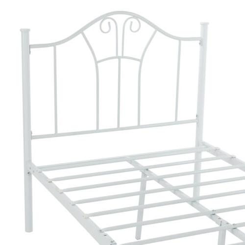 Twin Size Bed Frame Footboard Bedroom