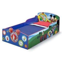 Mickey Mouse Interactive Wood Toddler Bed