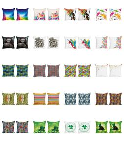 Ambesonne Muted Colors Cushion Cover Set of 2 for Couch and