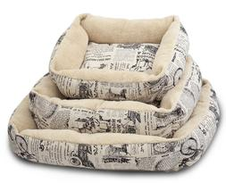 Paws & Pals Plush Dog Bed - Large