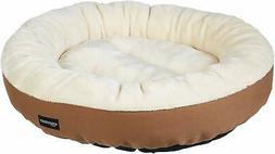 Round Pet Bed for Cats Small Dogs By AmazonBasics - Top Qual