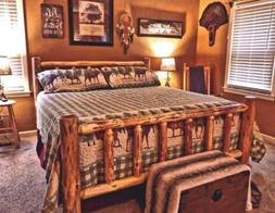 Rustic Log Bed! MOST SOLD on Ebay! NEW LOWER PRICE!  #1 Sell