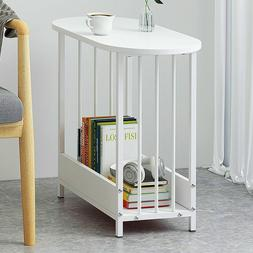 Simple Side Table End Table Sofa Bed Side Table for Small Sp