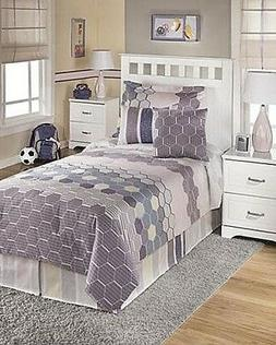 Signature Design by Ashley Volley 5-Piece Bedding Set, Twin,